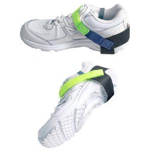 Lime Green Heel Grounder Velcro Elimstat