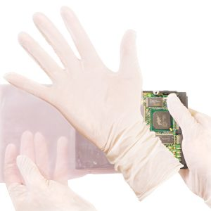 5 Mil Cleanroom Nitrile Exam Gloves. Latex-Free