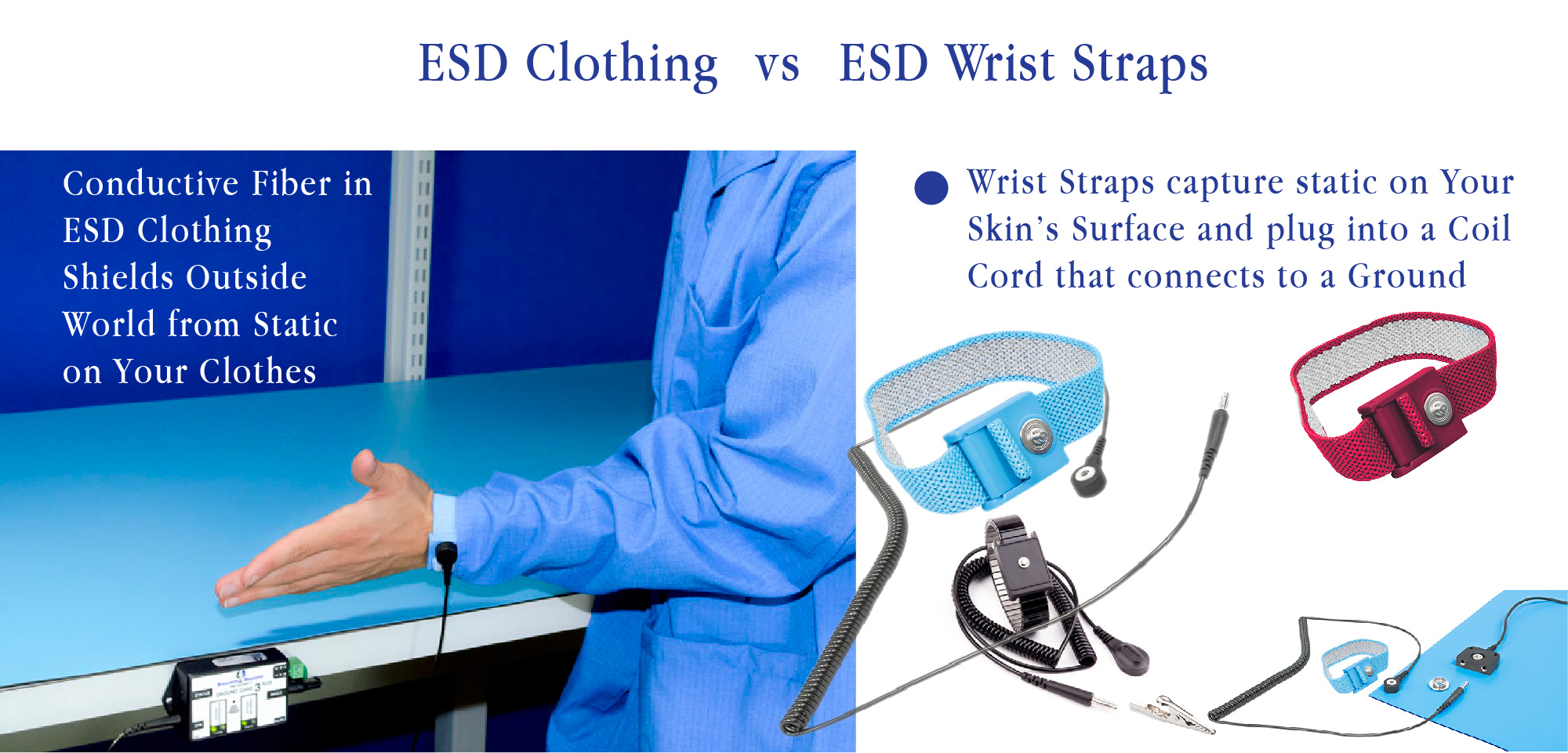 How Do Esd Safe Smocks And Lab Coats Work