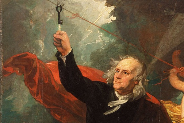 Benjamin Franklin as Isolated Conductor