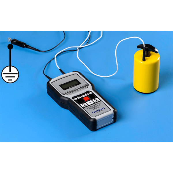 Resistance to Ground Measurement with Desco™ ESD Resistivity Meter