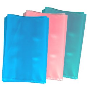 "Static Dissipative ""Anti Static"" Bags are Blue, Pink, and Green"