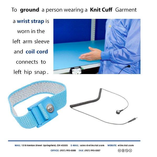 Knit Cuff ESD Garment System