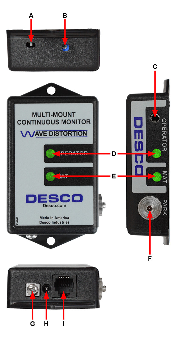 ESD Monitor Parts