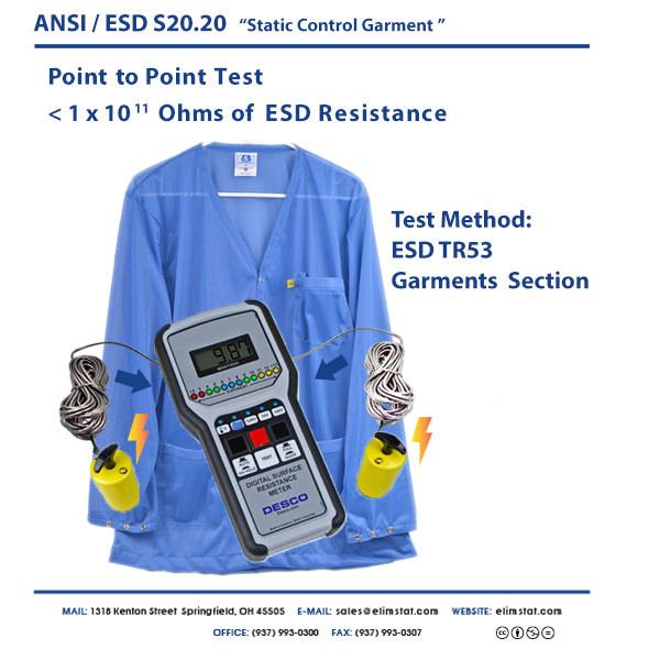 S20.20 Static Control Garment