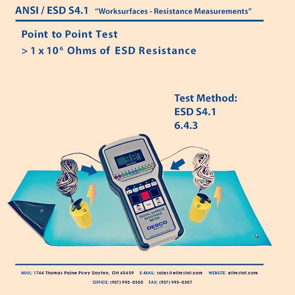 how to connect esd mat to ground