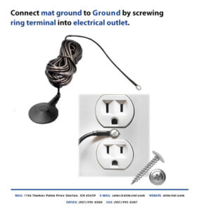 How to Ground Anti Static Mat