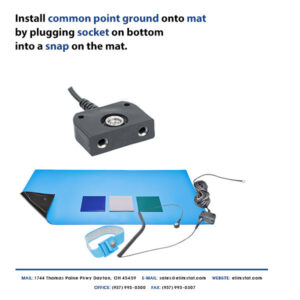 How to Ground ESD Mat with Common Point Ground